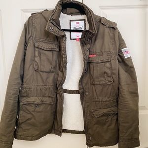 SuperDry Army Green Jacket